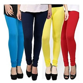 Kjaggs Multi-Color Cotton Lycra Full length legging (KTL-FR-9-10-11-2)