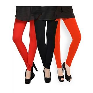 Set of 3 Kjaggs Cotton Lycra Legging KTL-TP-1-2-13