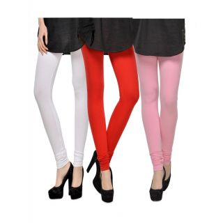 Set of 3 Kjaggs Cotton Lycra Legging KTL-TP-2-3-18