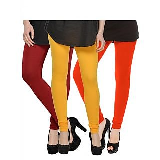 Set of 3 Kjaggs Cotton Lycra Legging KTL-TP-5-6-13