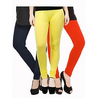 Set of 3 Kjaggs Cotton Lycra Legging KTL-TP-10-11-13