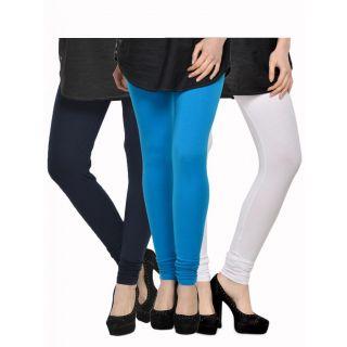 Set of 3 Kjaggs Cotton Lycra Legging KTL-TP-9-10-3