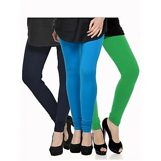Set of 3 Kjaggs Cotton Lycra Legging KTL-TP-9-10-4