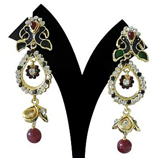 Vihana Traditional Long Earrings