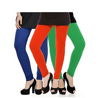 Set of 3 Kjaggs Cotton Lycra Legging KTL-TP-13-14-4