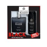 English Blazer Black EDT 100ml + FREE Body Spray 150ml