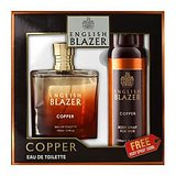 English Blazer Copper EDT 100ml + FREE Body Spray 150ml