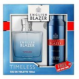 English Blazer Timeless EDT 100ml + FREE Body Spray 150ml