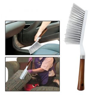Geargo Cleaning Brush With Hard  Long Bristles For Car Seat/ Carpet / Mats