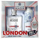 English Blazer London EDT 100ml + FREE Body Spray 150ml