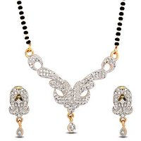 Luxor Designer American Diamond  Mangalsutra MS-1237