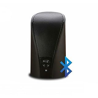 Portronics Pluto Stereo Bluetooth Speaker with FM POR 131 - Black