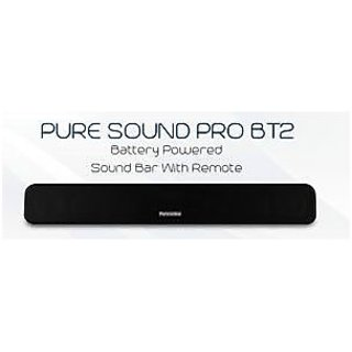 PORTRONICS-PURE-SOUND-PRO-BT-2-BLUETOOTH-SPEAKER+SOUND-BAR-FM-RADIO-AUX-USB
