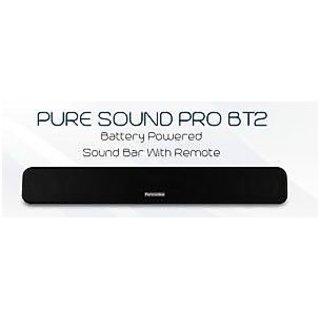 PORTRONICS PURE SOUND PRO BT 2 BLUETOOTH SPEAKER+SOUND BAR-FM RADIO-AUX-USB