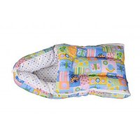 Orange and Orchid Baby Bedding Set Cum Sleeping Bag,Bed For Just Born,New Born