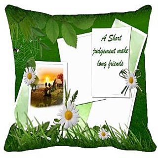 Judgement Digitally Printed Cushion Cover (16x16)