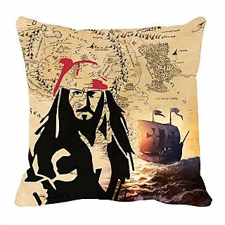 meSleep Map  Digitally Printed 16x16 inch Cushion Cover