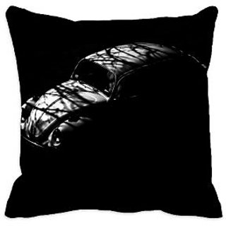 meSleep Vintage Car 3D Cushion Cover (16x16)