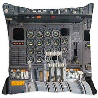 meSleep Cockpit 3D Cushion Cover (16x16), cushion covers
