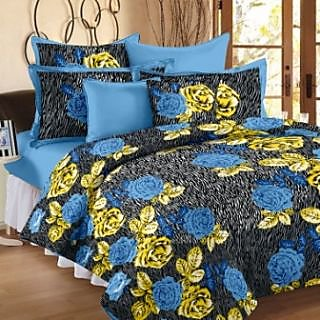 Story@ Home Blue 100% Cotton Fantasy 1 Single Bedsheet -FY1103