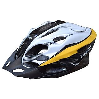 Cockatoo Cycling / Skating Helmets As Safety Guard Yellow Size- Large