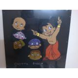 CHOTA BHEEM APPLIQUE CLOTH WALL HANGING 40 CM*30 CM