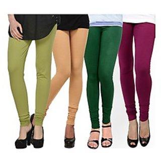 Kjaggs Multi-Color Cotton Lycra Full length legging (KTL-FR-15-16-17-19)