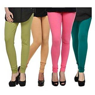 Kjaggs Multi-Color Cotton Lycra Full length legging (KTL-FR-16-17-18-12)