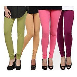 Kjaggs Multi-Color Cotton Lycra Full length legging (KTL-FR-16-17-18-19)