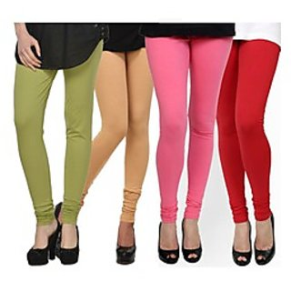Kjaggs Multi-Color Cotton Lycra Full length legging (KTL-FR-16-17-18-2)