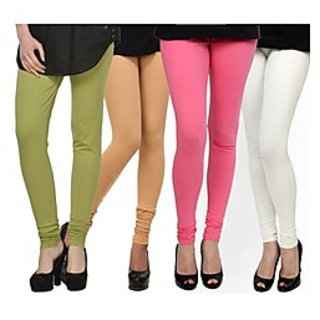 Kjaggs Multi-Color Cotton Lycra Full length legging (KTL-FR-16-17-18-3)
