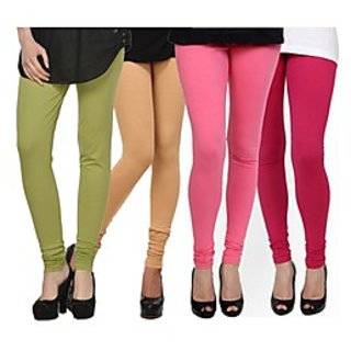 Kjaggs Multi-Color Cotton Lycra Full length legging (KTL-FR-16-17-18-8)
