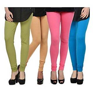 Kjaggs Multi-Color Cotton Lycra Full length legging (KTL-FR-16-17-18-9)