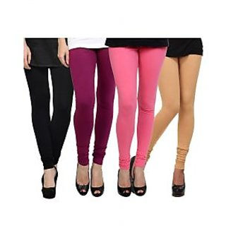 Kjaggs Multi-Color Cotton Lycra Full length legging (KTL-FR-17-18-19-1)