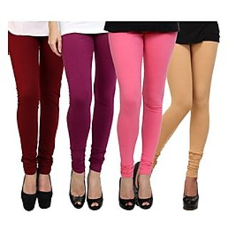 Kjaggs Multi-Color Cotton Lycra Full length legging (KTL-FR-17-18-19-6)