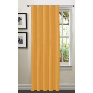 Story@Home Mustard Premium Blackout Eyelet 1 pc Window Curtain-WBK5005