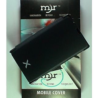 MJR Flip Cover For Nokia X Black