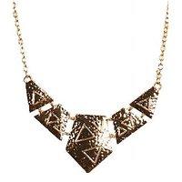 Urthn Pretty Necklace in Golden - 1103014