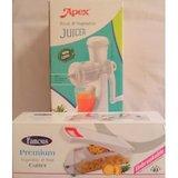 Apex Fruit & Vegitable Juicer With FruitAnd Vegitable Cutter