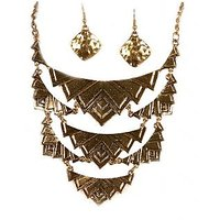 Urthn Ethnic Necklace Set  - 1103025