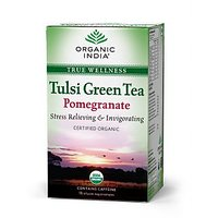 Tulsi Green Tea Pomegranate Tulsi Leaves Hisbiscus Flowers With Raspberry Flavor