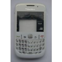 Brand New Blackberry Mobile 8520 Curve Full Housing Body Cover Panel With Keyboard Back Cover - White
