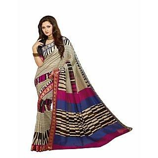 Bhavi Printed Baliguri Silk Sari (BHVP12516)