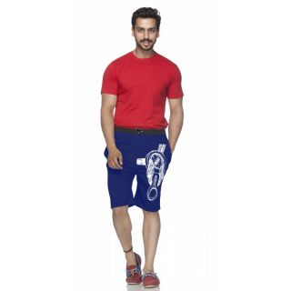 Demokrazy Designer Short For Men Navy Blue Color 1 Pcs