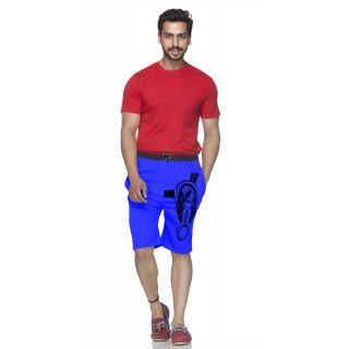 Demokrazy Designer Short For Men Royal Blue Color 1 Pcs