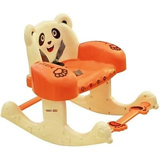 Panda Baby Rocking Chair - Orange