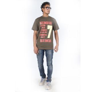 Posh 7 Classic Light Brown T Shirt