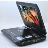 9.8 Inches Portable DVD Player With SD Card & USB Slot And Built In TV Tunner