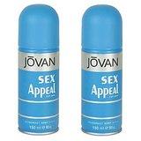 Jovan (Sex Appeal, Sex Appeal) Deodorant Men 150ml Pack Of 2