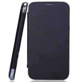 Micromax Canvas Fun A76 Flip Case Cover - BLACK + Screen guard